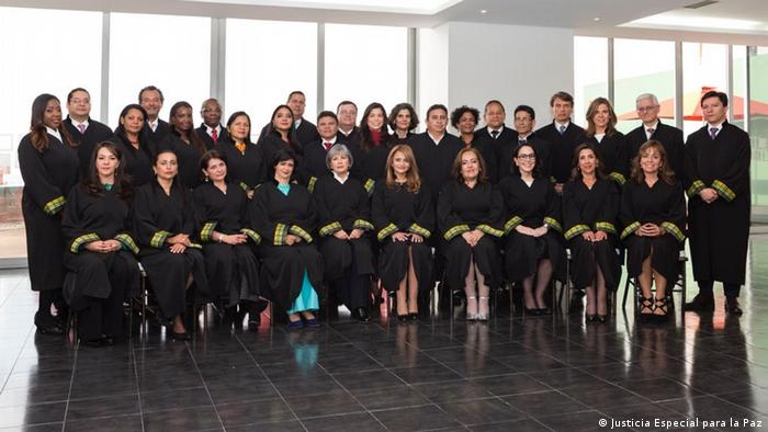 Kolumbien Sondertribunal Sondertribunal Justiz für den Frieden (Justicia Especial para la Paz)