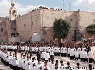 Božićna procesija u Betlehemu