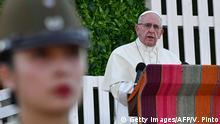 Chile Papst Franziskus prangert Ausbeutung von Migranten an