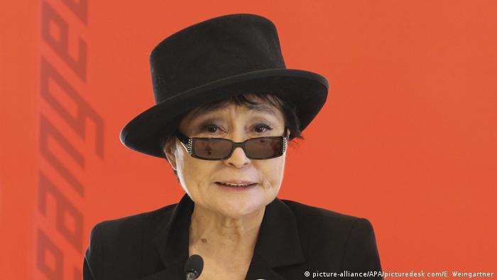 Österreich Wien Yoko Ono bei der Verleihung des Oskar-Kokoschka-Preises