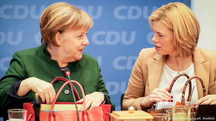 Merkel appoints rumoured successor to key party post