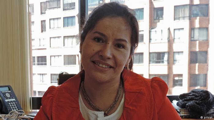 Claudia Vaca González, farmacóloga y experta en epidemiología de la Universidad Nacional de COlombia