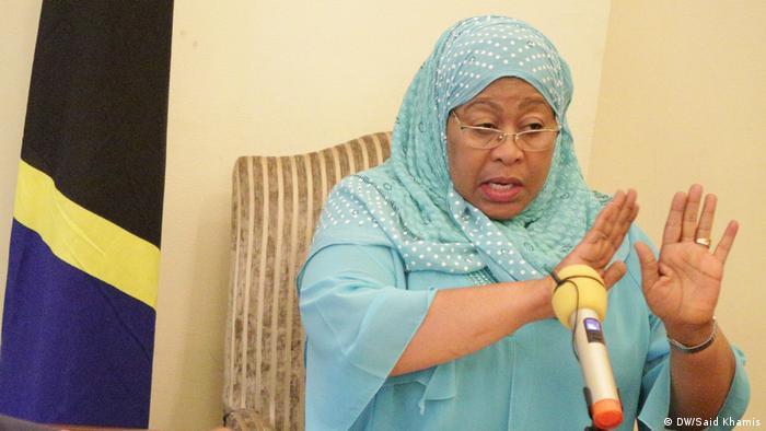 Samia Suluhu, Vice President of Tanzania.