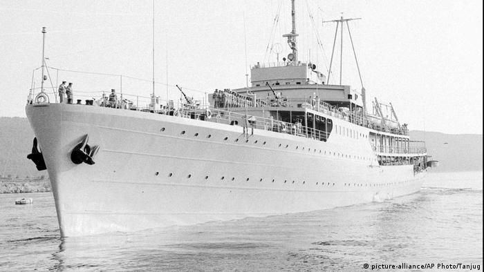 Galeb, früheres Schiff von Tito, Jugoslawien