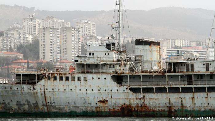 Бывшая яхта Тито