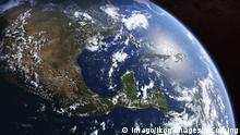 Erde vom Weltall aus gesehen