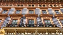 Jugendstilhaus von Otto Wagner am Schottenring 23 in Wien