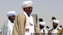 Sudan Präsident Omar Hassan al-Baschir