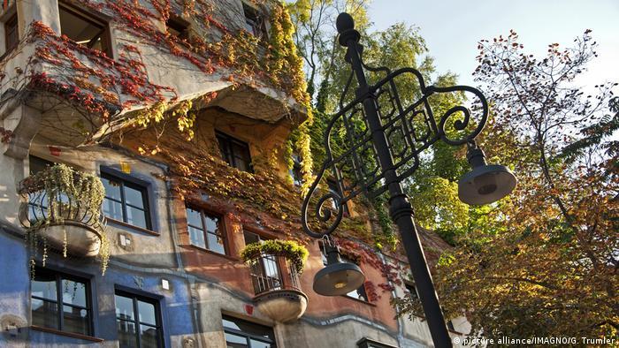 Hundertwasser Haus (picture alliance/IMAGNO/G. Trumler)