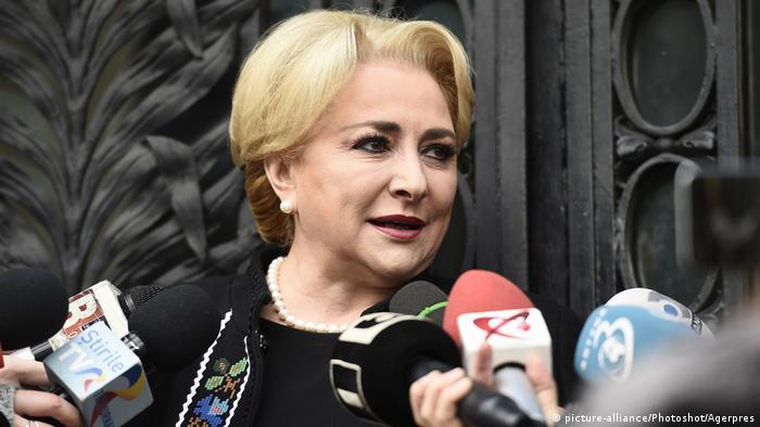 New Romanian premier Viorica Dancila