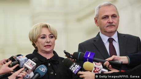 Rumänien Vasilica Viorica Dancila (Getty Images/AFP/O. Ganea)