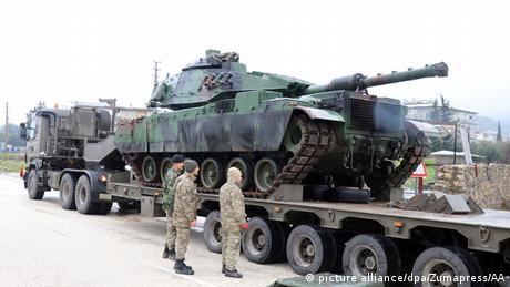 Турецька армія продовжує обстрілювати курдів на півночі Сирії