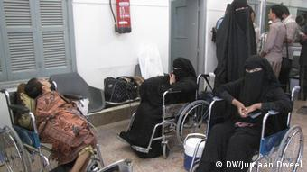Jemen Patienten und Kranke
