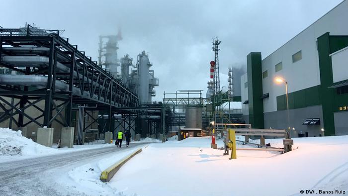 Äänekoski bioproduct mill in Finland (DW/I. Banos Ruiz)