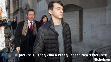 Großbritannien Prozess Kane Gamble, Hacker (picture-alliance/Zuma Press/London News Pictures/T. Nicholson)