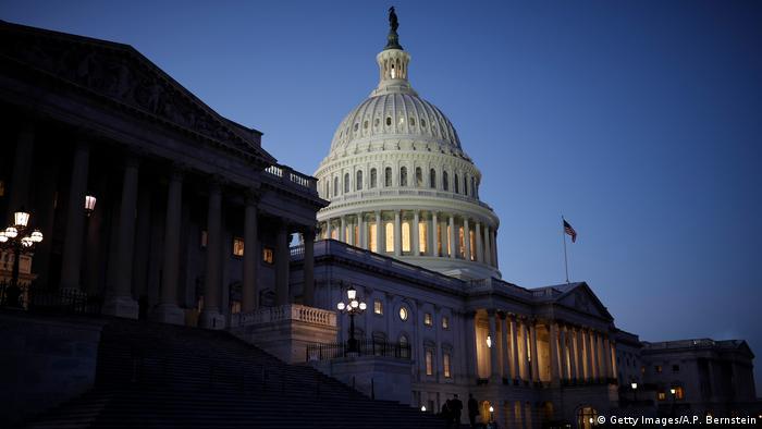 USA Kapitol in Washington | Abstimmung Haushaltssperre (Getty Images/A.P. Bernstein)