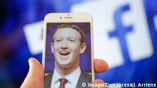 Mark Zuckerberg Facebook (Imago/Zumapress/J. Arriens)