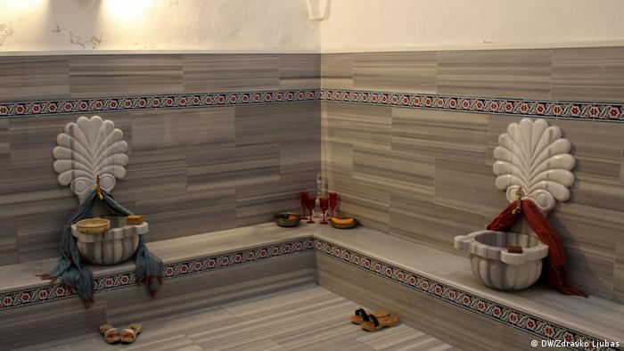 Bosnien und Herzegowina Mostar altes türkisches Bad (DW/Zdravko Ljubas)