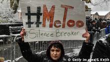 #MeToo Protest von Frauen
