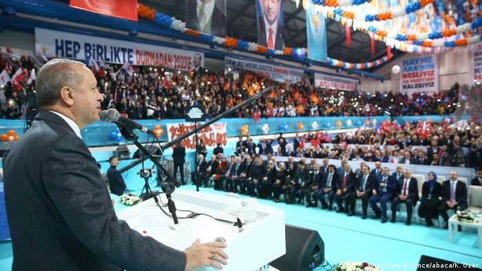 Recep Tayyip Erdogan in Kutahya