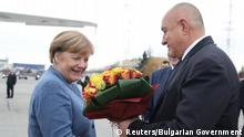 Kanzlerin Merkel zu Besuch in Sofia Bulgarien (Reuters/Bulgarian Government)