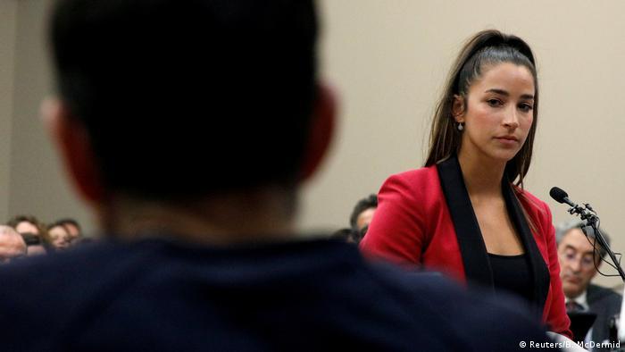 USA Missbrauchsskandal: US-Turnstar Raisman fordert unabhängige Untersuchung (Reuters/B. McDermid)