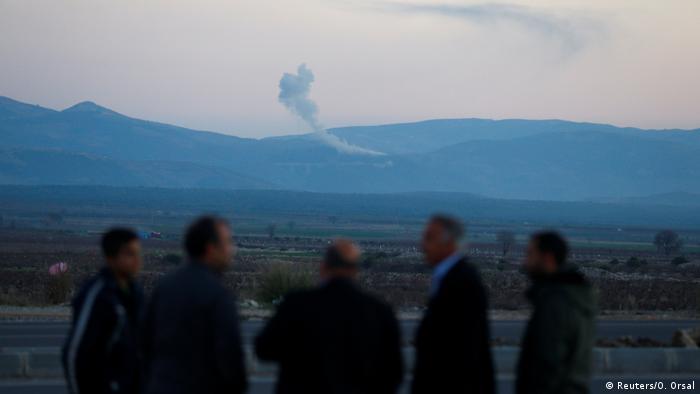Türkei beginnt Offensive Operation Afrin in Syrien (Reuters/O. Orsal)