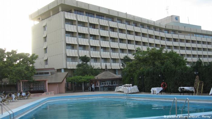 Intercontinental-Hotel in Kabul (picture alliance/dpa/C. Merey)