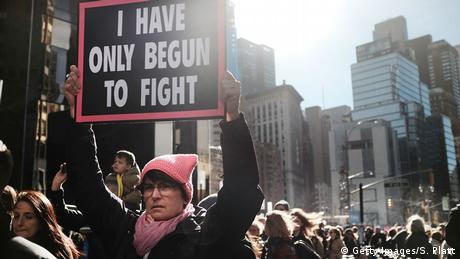 USA - Woman's March (Getty Images/S. Platt)