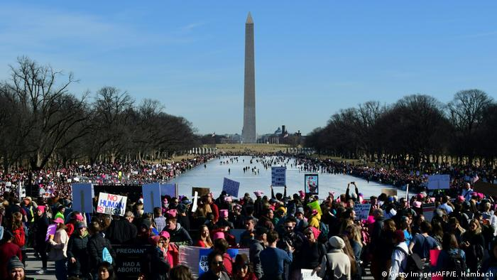 USA - Woman's March (Getty Images/AFP/E. Hambach)