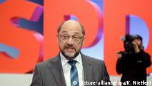 Martin Schulz in Bonn (picture-alliance/dpa/K. Nietfeld)