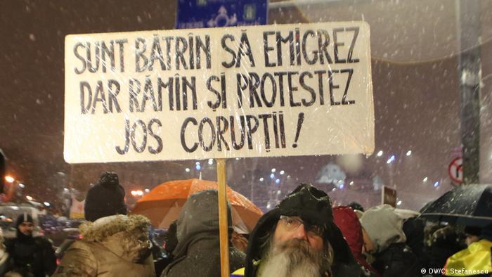 Proteste la București (DW/C. Stefanescu)