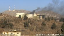 Afghanistan Angriff auf Intercontinental Hotel in Kabul