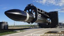 Neuseeland Rocket Lab Electron Rakete (picture-alliance/AP/Rocket Lab)