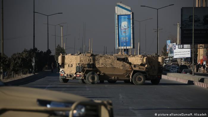 Afghanistan Angriff auf Intercontinental Hotel in Kabul (picture-alliance/Zuma/R. Alizadeh)