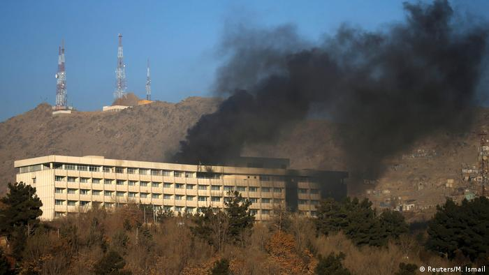Afghanistan Angriff auf Intercontinental Hotel in Kabul (Reuters/M. Ismail)
