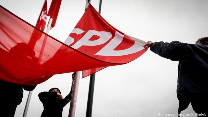 An SPD flag