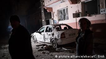 Türkei Kilis Raketenangriff aus Syrien