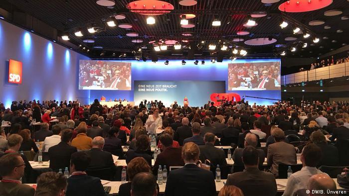 Deutschland SPD beginnt Parteitag zur Entscheidung über GroKo-Verhandlungen