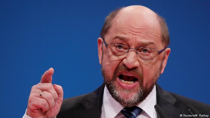 Außerordentlicher SPD-Parteitag SPD-Parteivorsitzender Martin Schulz