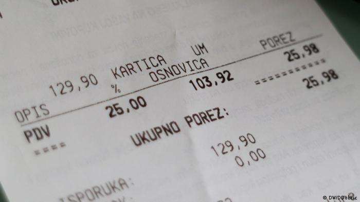 Račun u Hrvatskoj