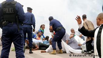 Proteste im Kongo (Reuters/K. Katombe)