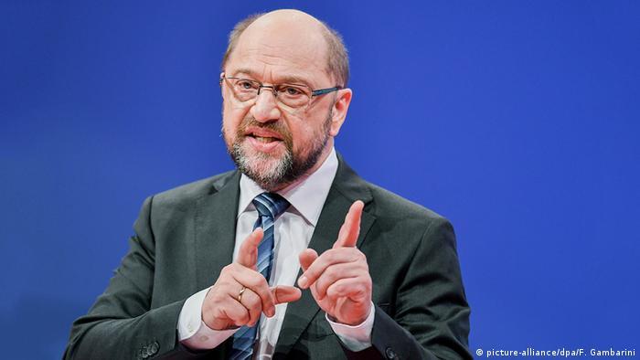 Bonn Außerordentlicher SPD-Parteitag Martin Schulz (picture-alliance/dpa/F. Gambarini)