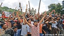 ***ACHTUNG: Bild nur zur abgesprochenen Berichterstattung nutzen!*** Rare photos of Bangladesh Liberation war 1971, 1969 mass protest, Language movement 1952, mass protest 1990 and students movement in 2002 and 2007. Rights: Journey/S.-M. Gorki