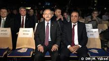 Kemal Kılıçdaroğlu, the leader of Turkey's main opposition party CHP, is seen at an event in Wuppertal