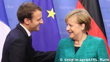 EU Gipfel Macron Merkel