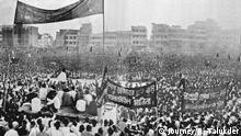 ***ACHTUNG: Bild nur zur abgesprochenen Berichterstattung nutzen!*** Rare photos of Bangladesh Liberation war 1971, 1969 mass protest, Language movement 1952, mass protest 1990 and students movement in 2002 and 2007. Rights: Journey/R. Talukder