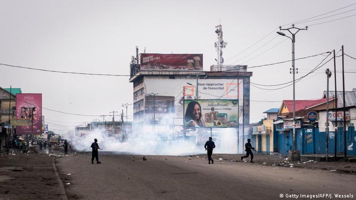 Proteste im Kongo