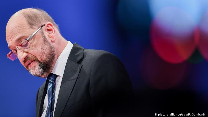 Martin Schulz, former leader of Germany's SPD party (picture alliance/dpa/F. Gambarini)