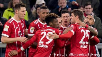 Deutschland Bayern München - Werder Bremen   Jubel